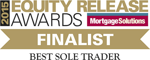 2015 Equity Release Awards logo awarded to Acclaimed Mortgage Consultancy for being a finalist