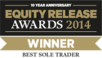 Equity Release Award logo which Acclaimed Mortgage Consultancy won an award for in 2014