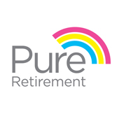 Pure Retirement logo who help provide Acclaimed Mortgage Consultancy and their equity release products