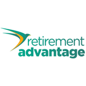Retirement advantage logo who help provide Acclaimed Mortgage Consultancy and their equity release products